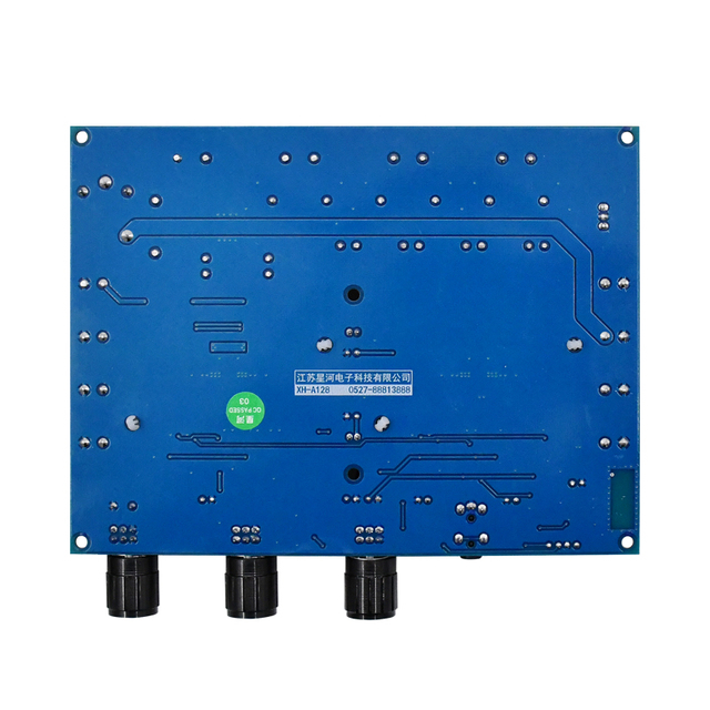 Panneau damplificateur de caisson de basses, Bluetooth 5.0, puissance 160W x 2 + 220W, 2.1 canaux, classe D, pour Home cinéma