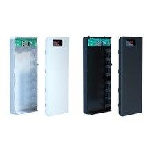 Shell Power-Bank Battery-Case External-Box 8x18650 Portable DIY Lcd-Display A8
