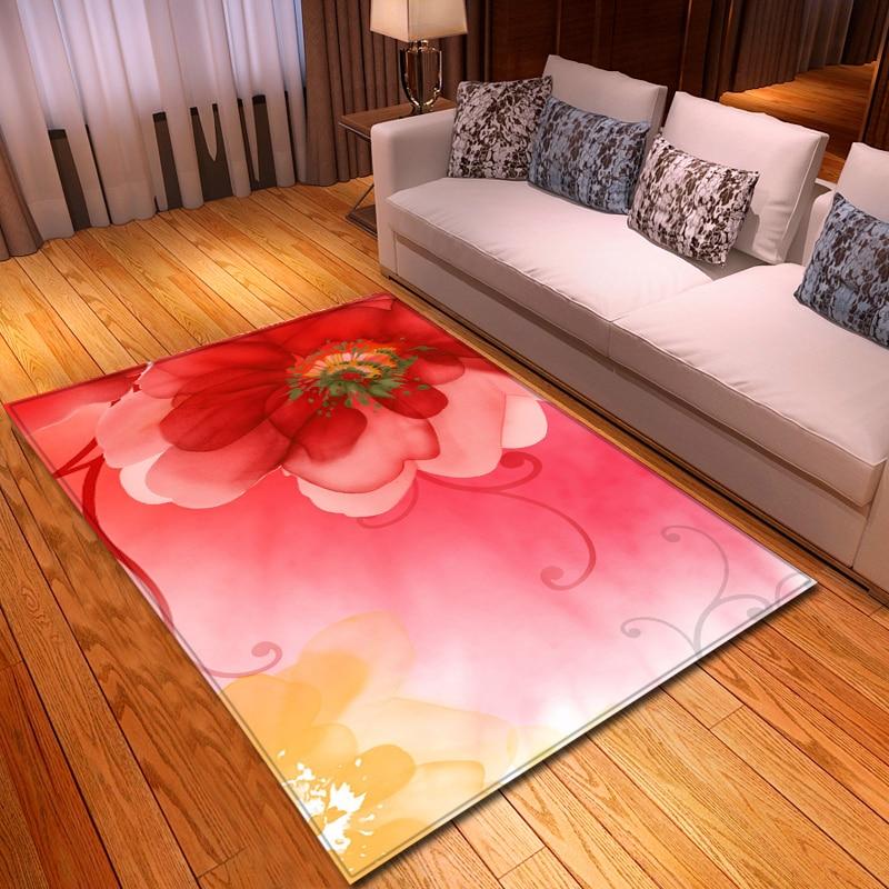 Nordic 3d Flower Carpets Cartoon Animal Bedroom Kids Play Mat Soft Flannel Memory Foam Big Area Rugs Carpet For Living Room Carpet Aliexpress