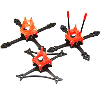 Toothpick 100mm 115mm 2.5Inch 3Inch Frame Kit ABS Carbon Fiber for RC Drone FPV Racing BetaFPV Cine Whoop 65mm Propeller