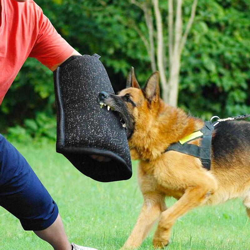 Dog Bite Arm Protection Sleeve Pet Training Biting Tool For Medium Large Police German Shepherd Pitbull Accessories Supplies