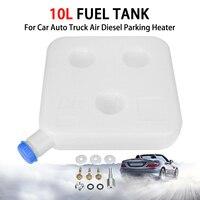 Aquecedor de ar universal 10l  aquecedor de plástico para armazenamento de gasolina  óleo  caminhão  diesel  para carro  acessórios para automóveis