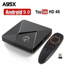 Smart Android 9,0 ТВ приставка Q1 мини Rockchip RK3328 2 Гб 16 Гб медиаплеер 2,4 WiFi Google Play Android ТВ приставка телеприставка