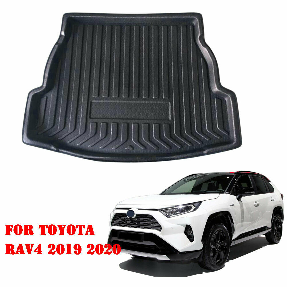 For Toyota RAV4 2019 2020 Car Cargo Liner Boot Tray Rear Trunk Luggage FLoor Mat