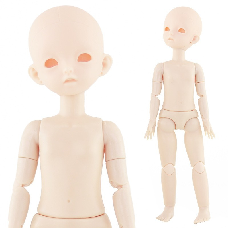 New 1/6 Bjd Doll 28cm Baby Doll Toys 22 Moveable Jointed Dolls Normal Skin Nude Doll Body DIY Without Makeup For Girl Toys Gift