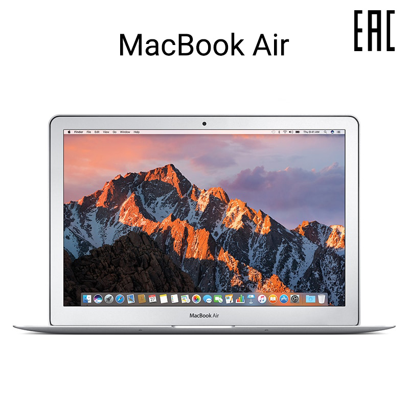 Laptop Apple MacBook Air 13,3 inch 1,8 GHz Dual-Core Intel Core i5, 8 GB/128 GB SSD (MQD32RU/A) image