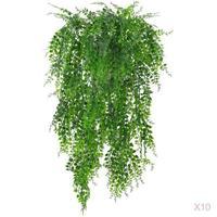 10 stücke 75cm Künstliche Blätter Kunststoff Pflanzen Reben Wand Hängen Garten Wohnzimmer Club Bar Verziert Gefälschte Blätter Grün anlage Ivy