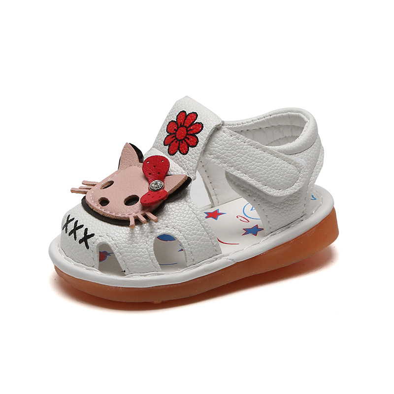 Baby Sandals 0-1-2 Year Old Kids Todder Shoes Summer Children Girls Soft Bottom Sandals Infant Casual Cute Shoes Fashion