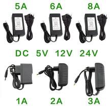 Adaptateur d'alimentation, chargeur universel DC 5V 12V 24 V 1A 2A 3A 5A 6A 8A, chargeur Hoverboard AC 220v à 12 24 v