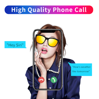 2020 Trending Product Men Square Bone Conduction Sunglasses  Women Audio Bluetooth Geek Sun Glasses G2