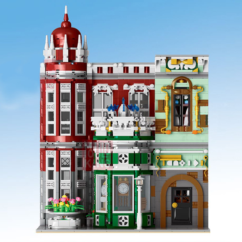 15008 City Street Green Grocer Building Blocks Kits 10182 Gift Toys For Kids NEW