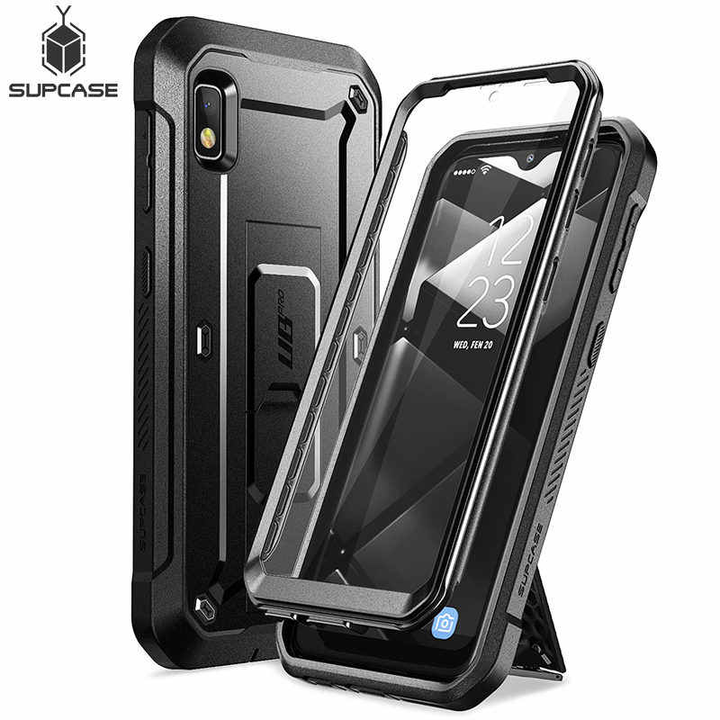 For Samsung Galaxy A10e Case (2019) SUPCASE UB Pro Full-Body Rugged Holster Case with Built-in Screen Protector & Kickstand