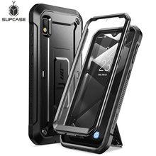 Funda para Samsung Galaxy A10e (2019), carcasa resistente de cuerpo completo UB Pro con Protector de pantalla incorporado y soporte de apoyo