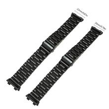 החלפת נירוסטה חכם שעון חגורה רצועת עבור oppO שעון 41mm 46mm J6PB