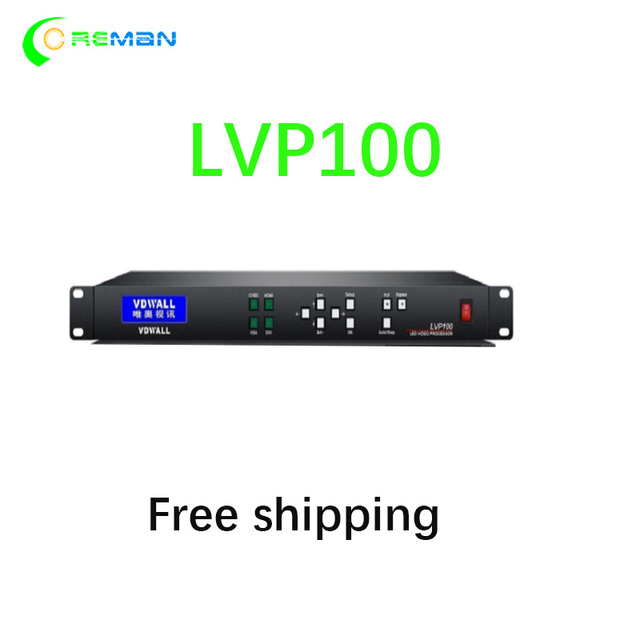 Free shipping Led display Video processor LVP100 for LED Video Wall in stock LED screen part LVP605 LVP615 2k 4k system
