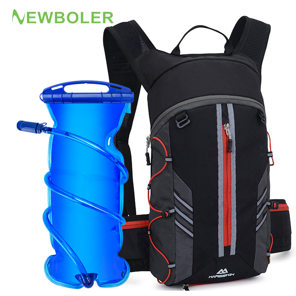 10L Waterproof Outdoor Sports Camping Water Bag Hydration Backpack For Hiking Riding Bag Water Pack Bladder Soft Flask