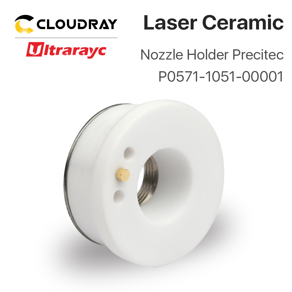 Ultrarayc Laser Ceramic Part For Precitec Raytools Fiber Cutting Head Dia.28mm 32mm