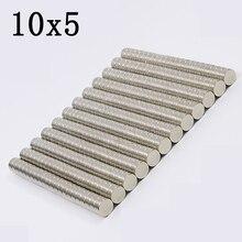 200Pcs 10x5 Neodymium Magnet…