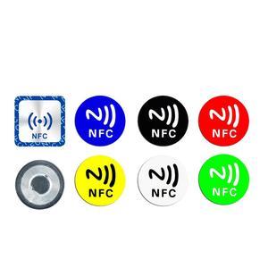 Image 5 - Etiqueta adesiva ntag ntag 213, 6 peças nfc ntag213 para huawei 13.56mhz, etiqueta universal rfid, token da chave, etiquetas ultraleve