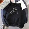 Totoro Studio Ghibli hoodies women streetwear grunge femme hoody sweatshirts hip hop streetwear 1