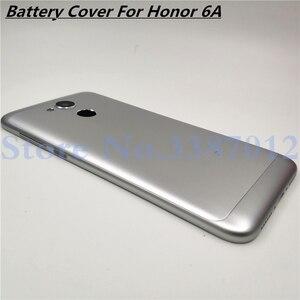 Image 1 - แบตเตอรี่ใหม่โลหะอลูมิเนียมสำหรับ Huawei Honor 6A พร้อมเลนส์กล้อง + ปุ่มปรับระดับเสียง