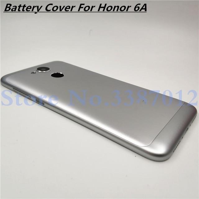 แบตเตอรี่ใหม่โลหะอลูมิเนียมสำหรับ Huawei Honor 6A พร้อมเลนส์กล้อง + ปุ่มปรับระดับเสียง