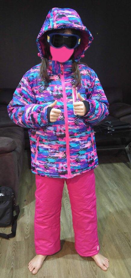 Jaquetas de esqui Espessamento Menino Quente