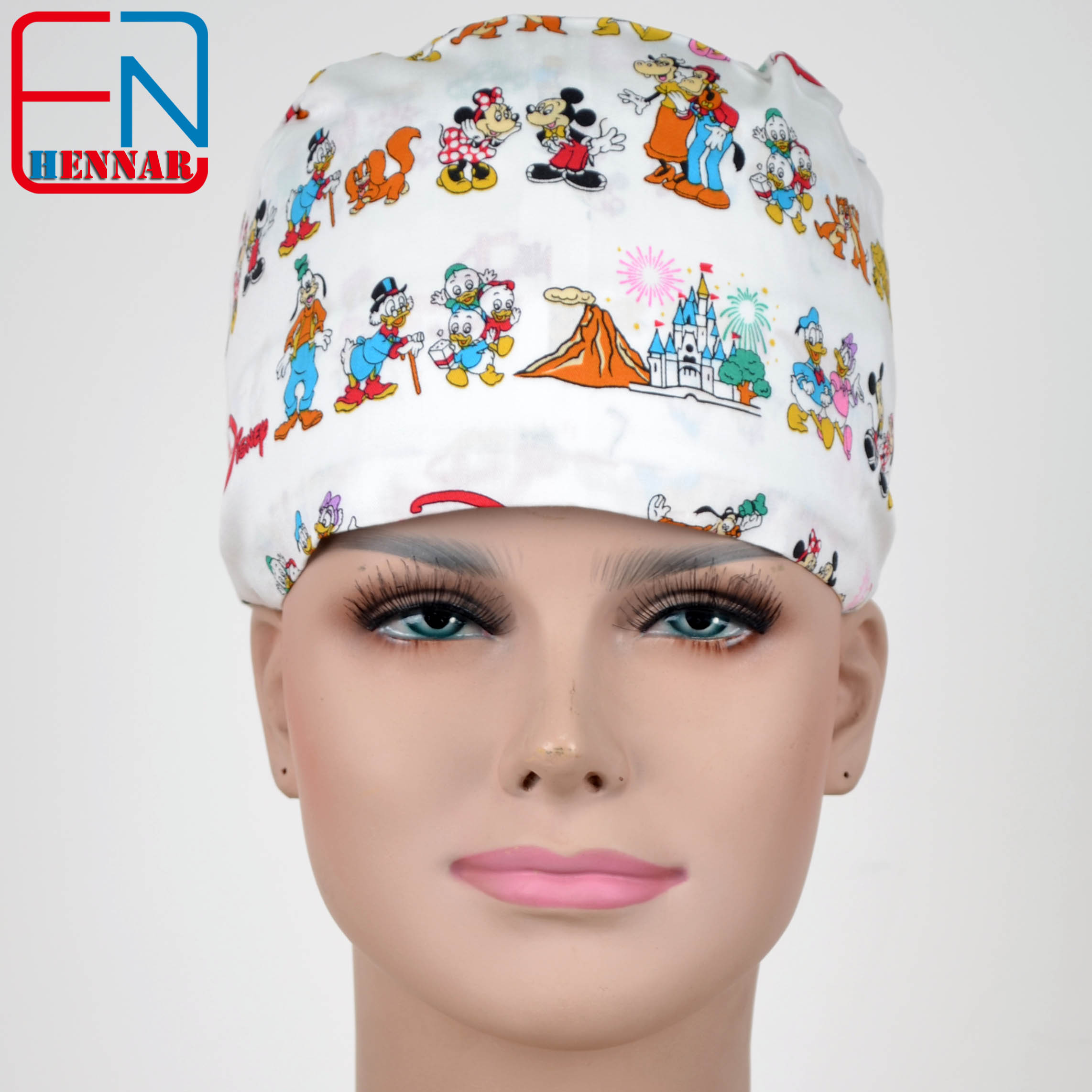 NEW  Surgical Caps For  Women Medical Caps,one Size Adjustable Scrub Hats