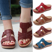 Women Premium Orthopedic Open Toe Sandals Vintage Anti-slip Breathable for Summer ED-shipping