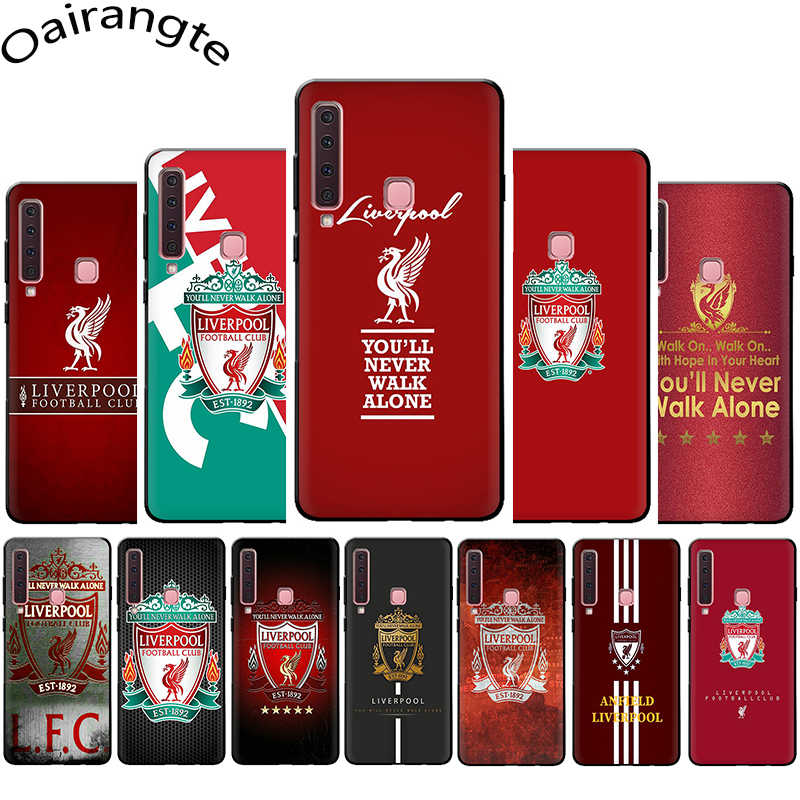 Liverpool Club Soft Phone Cover Case for Samsung Galaxy A5 A6 A7 A8 A9 A10S A20S A30S A40S A50S A60 A70 J6