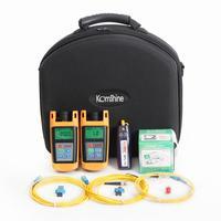 Basic Optical Fiber Toolkit Komshine KLT 4E incl Fiber Optic Power Meter, Light Source,1mw VFL, Fiber Cleaning tool
