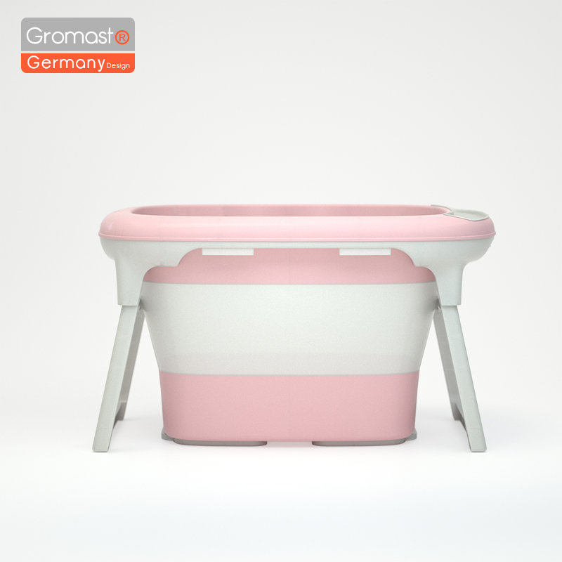Recém-nascido banheira de banho bebê portátil dobrável tamanho grande anti-deslizamento não-tóxico banheira criança balde de banho chuveiro infantil lavagem