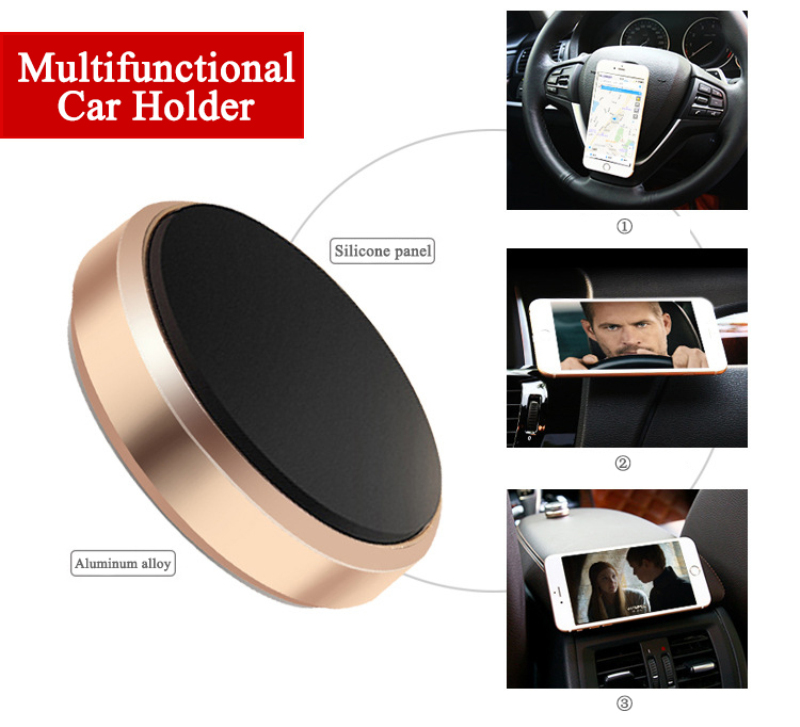 Magnetic Car Phone Holder For Mobile Phone Holder Car Dashboard Mobile Bracket Mobile Smartphone Stand Magnet Support Holder