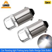 2x BA9S T4W LED Car light bulb T2W T3W H5W 2 interior Car LED License Plate luz LED 2835 SMD DC12V 12913 12910 12929