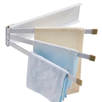 1 sztuk z darmowym przepychaczem obrotowy ręcznik łazienkowy wielofunkcyjny wieszak na ręcznik łazienkowy Rack akcesoria łazienkowe 3 23 tanie i dobre opinie Typ ścienny 13213