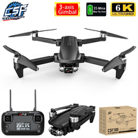 2021 NEUE CSF100 Drone 6K HD Kamera 3-achsen Gimbal 35 minuten Flugzeit Bürstenlosen Luftaufnahmen GPS WIFI FPV vs SG906 pro2 F11