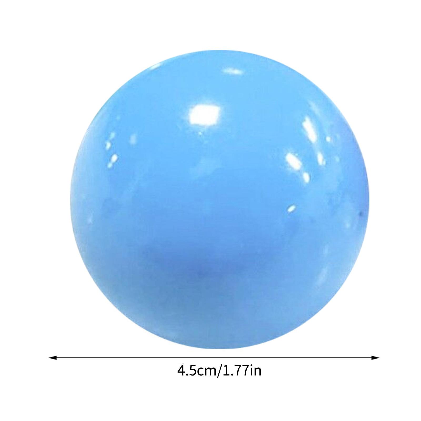 Sensory Toys Sticky Ball Squishy Globbles Ceiling-Ball Anti-Stress Glow Pit for Kid -K img3