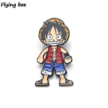 Flyingbee Funny Enamel Pin Cartoon Cute Brooch Collection Metal Lapel Badge Brooches for Women Men Jewelry Gifts