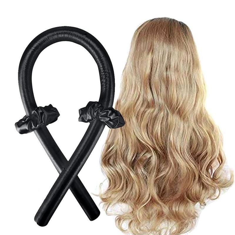BounzeUp Heatless Hair Curling Wrap Kit