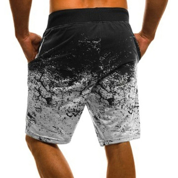 Quick Dry Men Board Shorts Beach Shorts Male Shorts With Pocket Casual Drawstring Shorts Summer Mens Print Board Shorts For Male фото