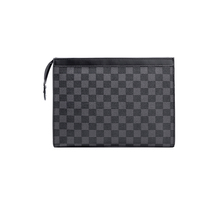 KYYSLO Plaid design luxury New Business Tide Men's Large-capacity Clutch