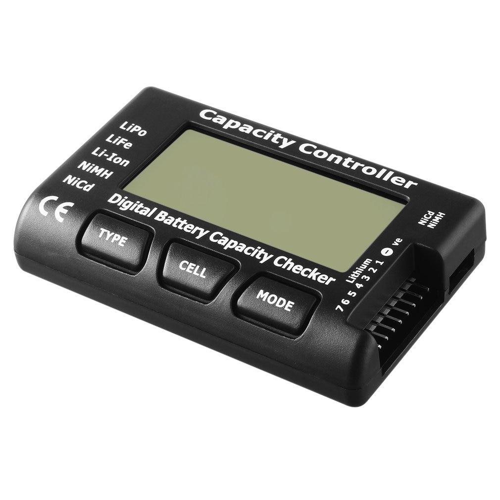 Прибор для проверки напряжения аккумулятора, тестер с 7 цифровыми измерителями емкости аккумуляторов LiPo LiFe Li-Ion Nicd NiMH