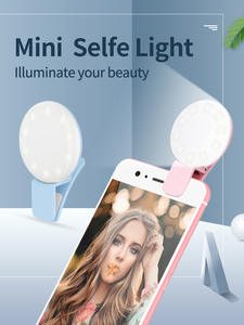 Coolreall Ring-Light Flash Mobile-Phone Selfie Mini Portable for Night-Photography Usb-Clip