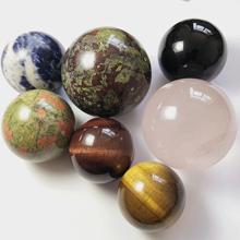 9 Stone sphere 30-50mm set chakra healing mini Crystal balls Tiger Eye Rose Quartz Obsidian Dragon blood wicca witchcraft decor 1 pcs crystal sphere balls with stand natural green fluorite sphere for home decor natural stone 35 mm healing chakra balls