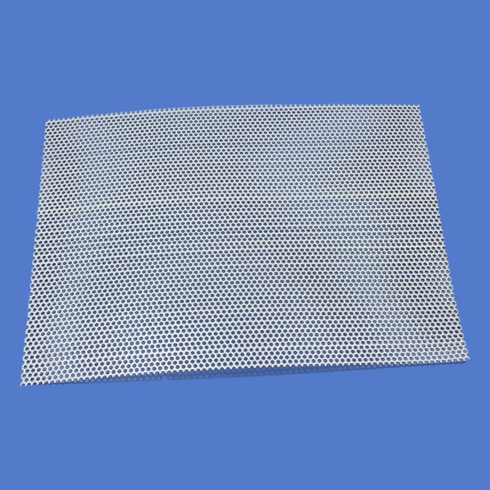 210x160mm-4 Car Audio Tweeter Speaker Conversion Net Cover Decorative Circle Square Metal Mesh Grille Protection #White