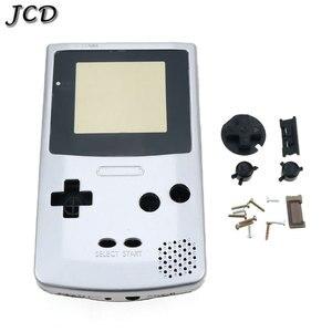 Image 4 - JCD dla GBC edycja limitowana Shell zamiennik dla Gameboy Color GBC konsola do gier pełna obudowa z zestaw przycisków