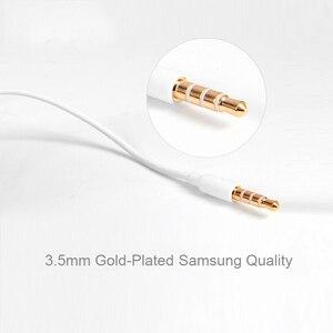 Image 3 - Écouteurs dorigine Samsung EHS64 casques avec Microphone intégré 3.5mm dans loreille écouteurs filaires pour Smartphones avec cadeau gratuit