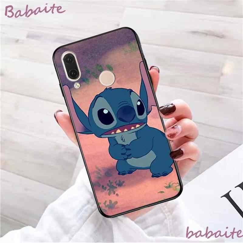 Teléfono de alta calidad para xiaomi mi redmi 5 plus 6 pro 6A 4X 7 7A 8 GO Babaite Lilo Stitch diseño de cuero Delgado