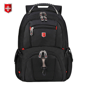 Swiss Men's Backpack 15.6/17 inch Computer Notebook School Travel Bags Unisex Large Capacity bagpack waterproof Business mochila(China)