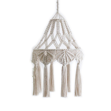 Hand-woven lampshade Bohemia woven pendant living room and bedroom decoration